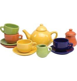 Schylling Children's 13 piece porcelain tea set