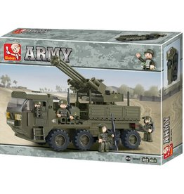 Sluban Mobile Anti Aircraft Gun (306 pieces)