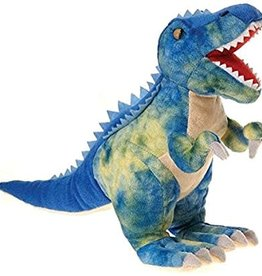 Imex Large Soft Blue Spine Back Dinosaur