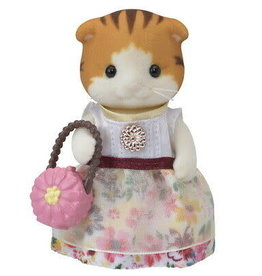 Calico Critters Town Girl Series - Miranda Maple Cat