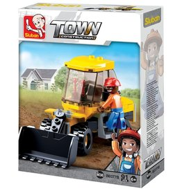 Sluban Wheeled Loader (91 pieces)