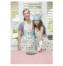 Handstand Kitchen Apron Set - Milk Cookies