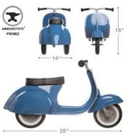 Ambossytoys Primo Ride On Toy Blue