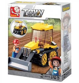 Sluban Farm Tractor (132 pieces)