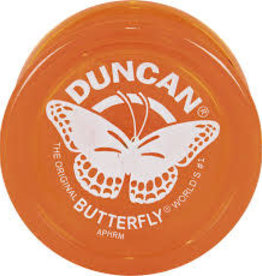 Duncan Butterfly Yo-Yo Orange