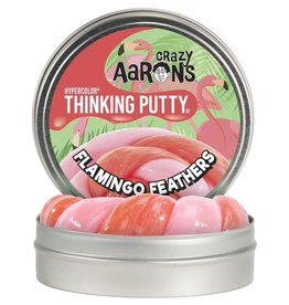 "Crazy Aaron Flamingo Feathers 4"" Hypercolor Tin"