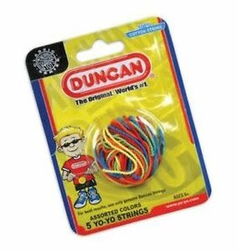 Duncan Yo-Yo String (5 pack)-Multi-color - 100% Cotton