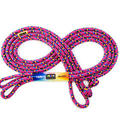 Just Jump It 16' Jump Rope Light Purple / Dark Pink Confetti