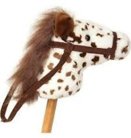 "Aurora 37"" Brown Pinto Horse"