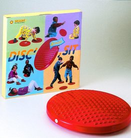 Gymnic Disc 'o' Sit Jr. Cushion (Red)