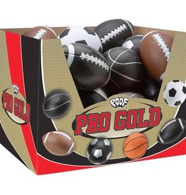 Slinky Poof Pro Gold  Ball PDQ 15 football black