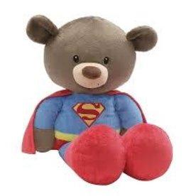 """Gund 15"""" Fuzzy Superman Jumbo 25"""