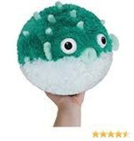 "Squishable Mini  Teal Pufferfish (7"")"