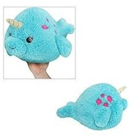 "Squishable Mini Baby Narwhal (7"")"