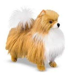 "Melissa & Doug 14"" Pomeranian - Plush"