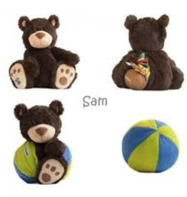 Buddy Balls Sam (Green & Blue)