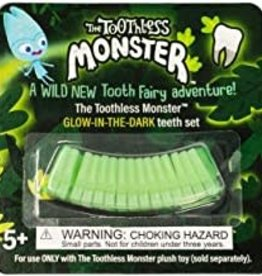 Toothless Monster The Toothless Monster Glow in the Dark Teeth Set