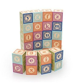 Uncle Goose 28 Block Lowercase Alphabet Set