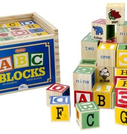 Schylling ALPHABET BLOCKS 48 PCS.