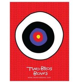Two Bros Bows Safari Bow, 2 Arrows and Small Bullseye