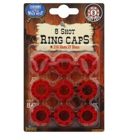 Maxx Action Wild West Ring Caps