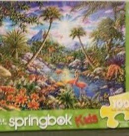 Springbok 100 pc Discovery Island