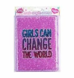 3CAG Magic Sequence Journal Girls Can Change the World
