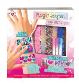 Fashion Angels Magic Sequin Slap Bracelet Design Kit