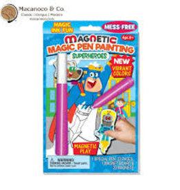 Lee Publications Magnetic Magic Pen Super Heros