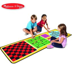 Melissa & Doug 4-in-1 Game Rug