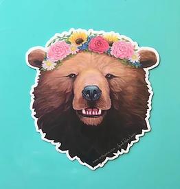 Amanda Rose Warren Sticker Rosie Bear