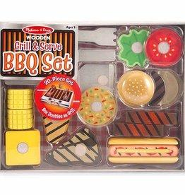 Melissa & Doug Grill and Serve BBQ Set