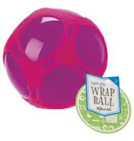 Toysmith Super Grip Wrap Ball Pink
