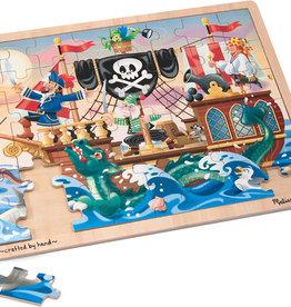 Melissa & Doug Pirate Adventure Jigsaw (48 pc)