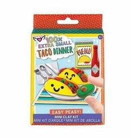 Fashion Angels 100% Extra Small Taco Dinner Mini Clay Kit