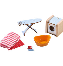 Haba Little Friends - Dollhouse Accessories Washday