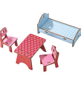 Haba Little Friends - Dollhouse Furniture Homestead