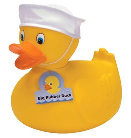 Schylling Large Rubber Duck with Hat