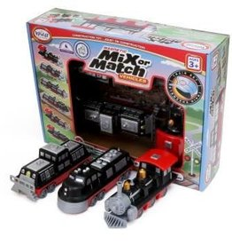 Popular Playthings Mix  or Match Vehicles Train Set