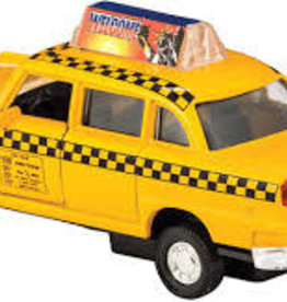 Schylling DIE-CAST TAXI; PULL-BACK