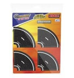 In Road Toys 2 Inch Tight Curves with Clip Strip