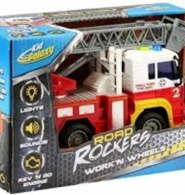 Road Rockers Fire Truck with friction power