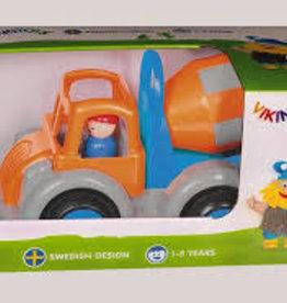 Viking Toys Jumbo Cement Truck w/2 Figures