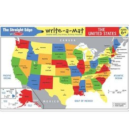 Melissa & Doug The United States Write-a-Mat