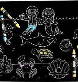 Imagination Starters Chalkboard Placemat Ocean