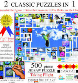 SunsOut 500 pc Taking Flight: 2 Classic Puzzles in 1
