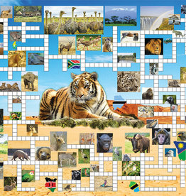 SunsOut 1000 pc Going on Safari: 2 Classic Puzzles in 1