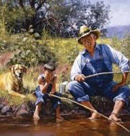SunsOut 300 pc Fishing with Grandpa