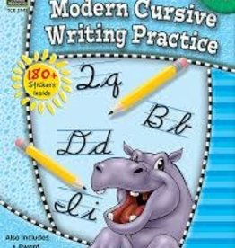 TCR Modern Cursive Writing Practice