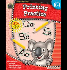 TCR Kindergarten - First Grade Printing Practice